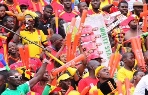 Ug Cranes Fans Ready To Rally The Cranes In Maseru