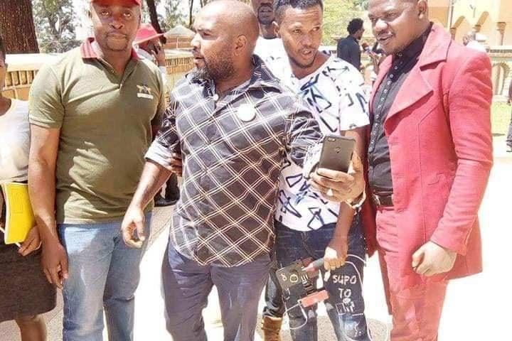 Bobi Wine's Body Guard Eddy Mutwe Granted Bail