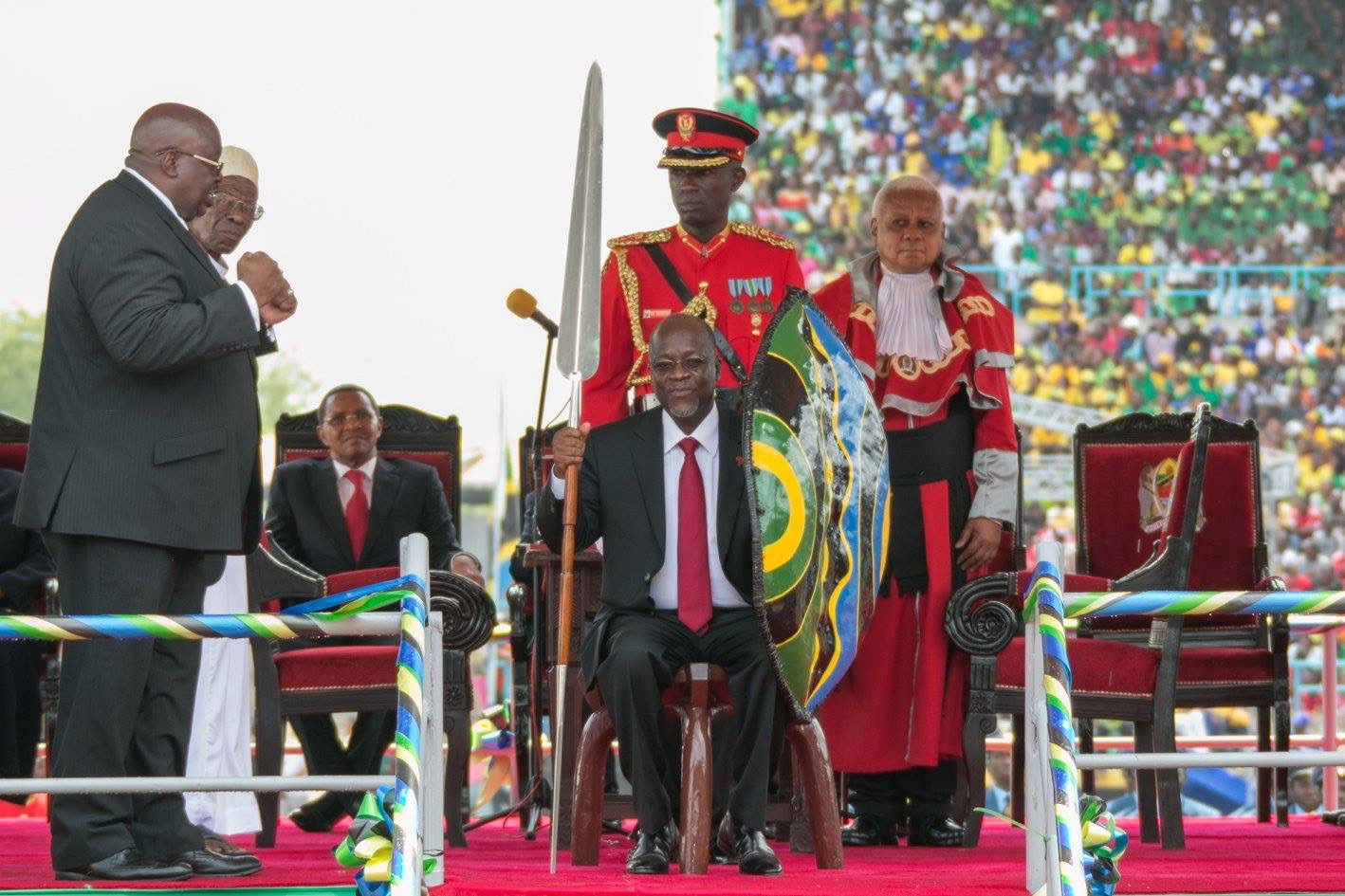 Tanzania's John Magufuli Sworn In As President For Second Term In Office -  The Spy